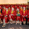 Anderson High School graduation at the Kardatzke Wellness Center on Sunday.