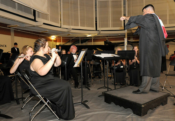 """The Wind Ensemble and Bagpipes perform """"Amazing Grace."""""""