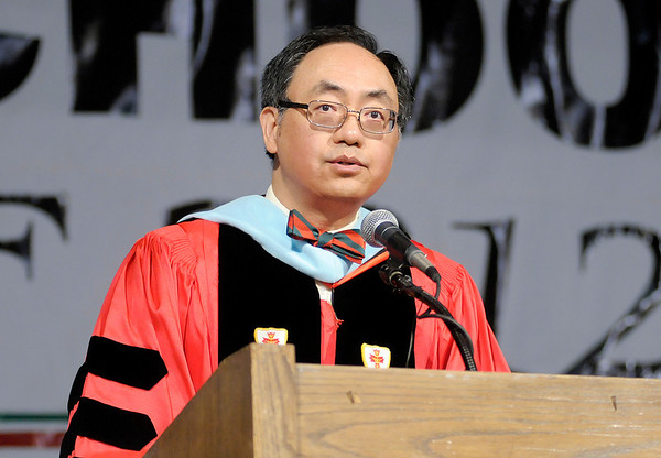 Superintendent Felix Chow reflects on the accomplishments of the Class of 2012.