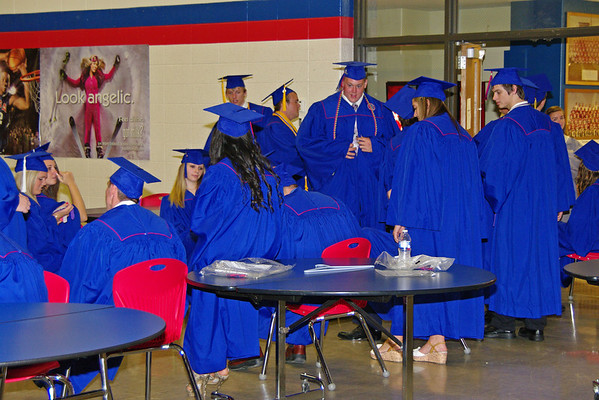 The 2012 Elwood High School Commencement.