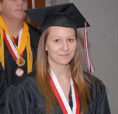 2012 graduate Courtney Miller.
