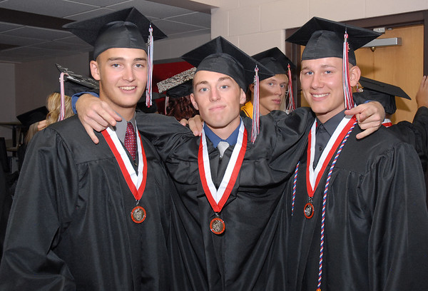 Frankton seniors Curtis Jameson, Jeremy Jenkins, and Jake Beasley have been best friends and gone through school together since kindergarten.