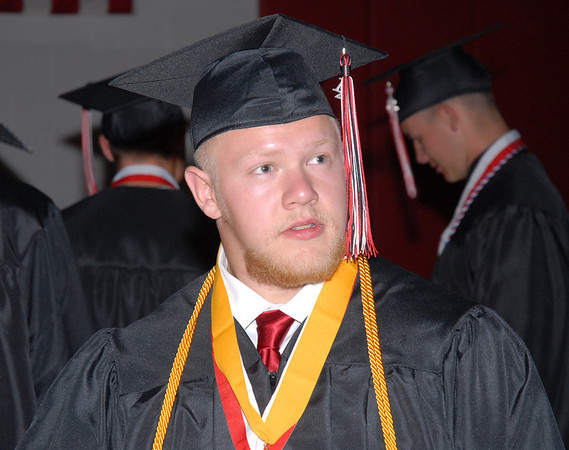2012 Frankton High School Graduation.
