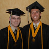 2012 Lapel High School salutatorian Jared Knepp and valedictorian Matthew Conrad smile for the camera before commencement Saturday evening.