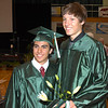Pendleton Heights graduates and foreign exchange students Francisco Batista and Bernhard Luescher.