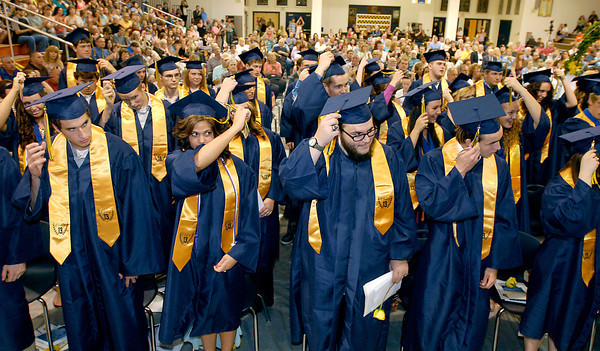 Shenandoah High School 2013 Commencement.