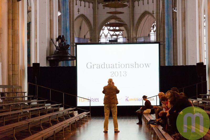 Graduationshow 13-06-2013