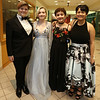Groton-Dunstable pre-prom gathering at the high school. From left, Britney Lord of Dunstable, Aurora Edwards of Groton, Madison Collins of Groton, and Willow Chau of Groton. (SUN/Julia Malakie)
