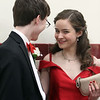 Groton-Dunstable pre-prom gathering at the high school. (SUN/Julia Malakie)
