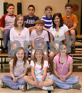 Middle School Spelling Bee Contestants
