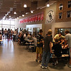 Gunnison High School, first day of school after renovations were completed - related to bond passed