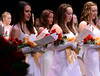 GWynedd Mercy Academy High School Class of 2014 members perform a song during their Commencement Excercises on Saturday May 31,2014. Photo by Mark C Psoras/The Reporter