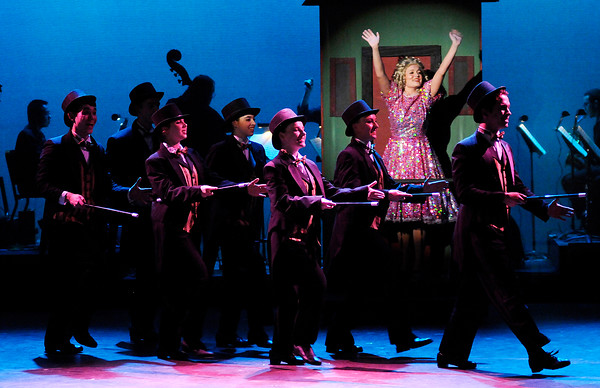 """Don Knight   The Herald Bulletin<br /> Anderson University's production of """"Gypsy."""""""