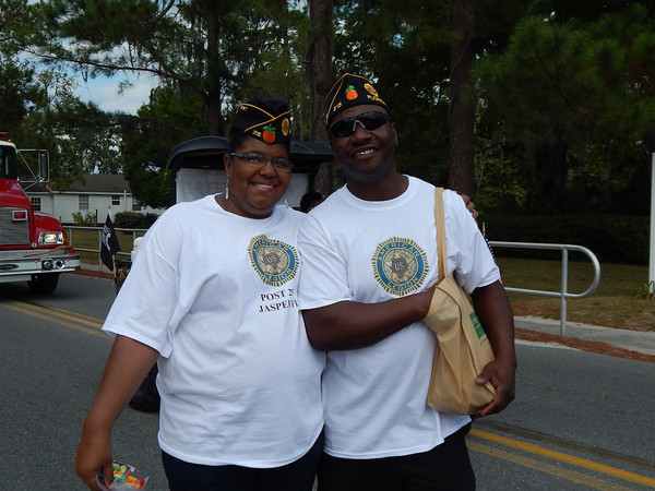 American Legion Post 215 is proudly represented.