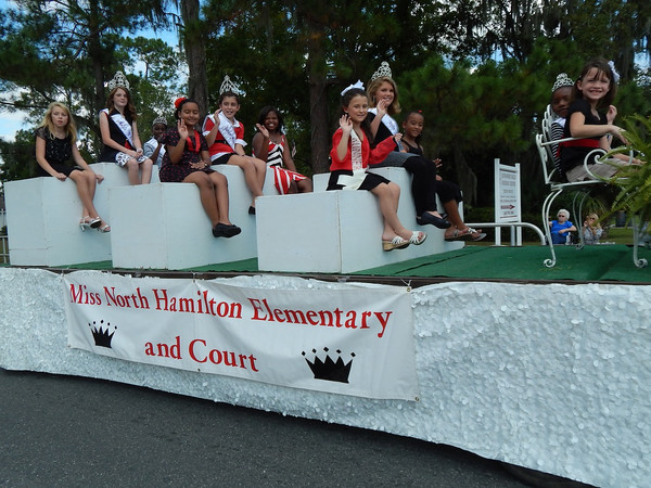 Miss North Hamilton and her court