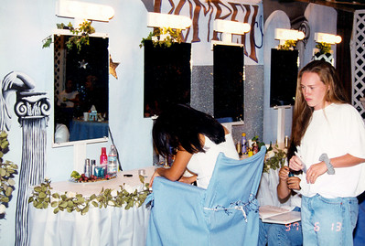 A full beauty parlor  aided the graduates to achieve their fantacies