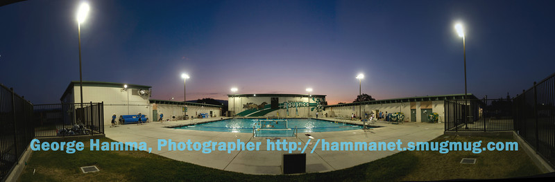 (9/2008) The completed pool at Homestead High School is now fully capable to support their active aquatics program. Thanks to Homestead athletes, parents, staff, alumni, the FUHSD and the Board for their support.