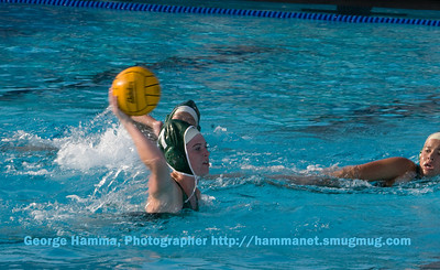 (9/2008) Water polo competition is underway.