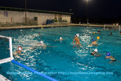 (9/2008) The water polo program is very strong, with lots of participants.