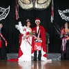 King Omar Hunter and Queen Melinette Pallares were crowned at the 2013 PTSA Mardi Gras celebration.