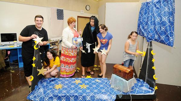 HOLY SPIRIT HIGH SCHOOL, ABSECON NJ. SUMMER ARTS PROGRAM 07/18/13