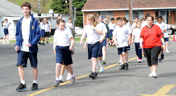 HOLY TRINITY SCHOOL , WESTVILLE GROVE NJ. HOSTS A RACE FOR EDUCATION