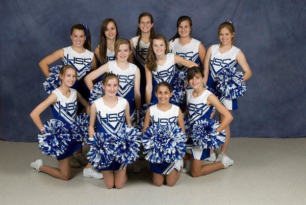 HSRS Cheerleaders 2008