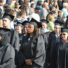 Hudson Valley Community College commencement at the Joseph L. Bruno baseball field in Troy, Saturday  May 17,  2014 (Mike McMahon - The Record)