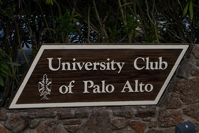 The University Club of Palo Alto is an excellent venue for a private session, and the generous sponsor of the Dartmouth Alumni Association of Silicon Valley.