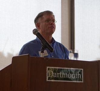 James von Rittmann '95 giving the opening remarks.