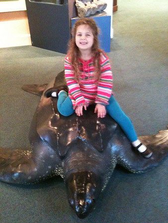 Hanna's first field trip (ECLC) to Nat. Hist. Museum in SC