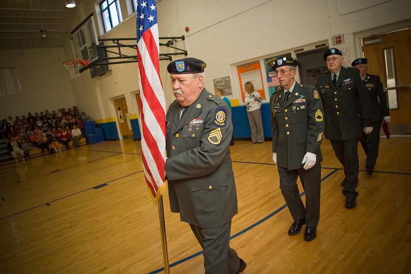 Harold McCormick Vetrans 11-07-08 11/07/08 honor guard