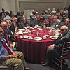 Class of 1965 table. 50th reunion dinner. Rob Stephenson, Jeff Brown, Mrs Brown, Elliot Rothman, Martha Rothman, Buzz Stluka, Harvey Rubenstein, Toby Rubenstein, Mrs Diaz, Jim Diaz. September 19, 2015.