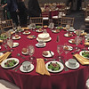 Table setting. 50th reunion dinner. September 19, 2015.