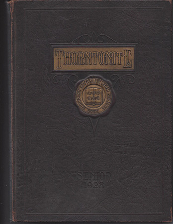 Harvey IL 1928 TTHS Yearbook