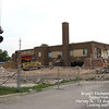 BRYANT ELEMENTARY - HARVEY, IL - DEMOLITION- 2008<br /> West side of school from Broadway Avenue.