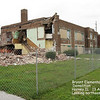 BRYANT ELEMENTARY - HARVEY, IL -DEMOLITION -2008<br /> East side of school on Main Street.