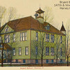 BRYANT SCHOOL - HARVEY, IL --ORIGINAL BUILDING-1906<br /> Located across 147th street from the present day school, where the fire department is located.  This building was destroyed by fire.