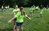 Ashley, left, and Haley Decker practice a self-defense exercise during the Hatfield Township Junior Police Academy held in School Road Park. Thursday, June 26, 2014.   Photo by Geoff Patton