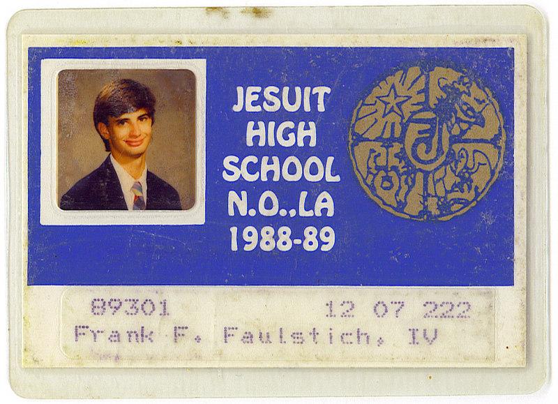 My senior high school ID