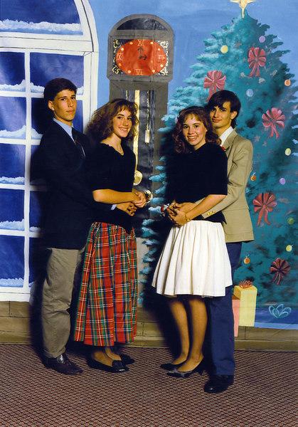 Dominican Winter Formal<br /> Harrington & Alison Oge Cascio, Jennifer Lot and Ricky