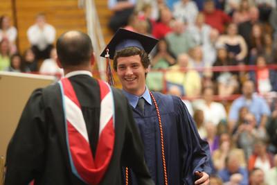 2015 Lewis Cass High School graduation