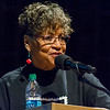 "Peggy Trotter Dammon Preacely was the keynote speaker at the Ivy Tech annual ""Doing the Dream"" event on Jan. 31 held at Logansport High School. Preacely was a Freedom Rider and civil rights activist from the 60s and continues working for change to this day. Fran Ruchalski 