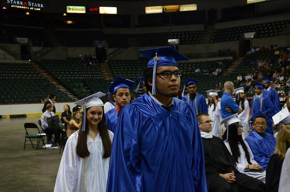Hightstown High School 2015 graduation
