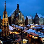 One of the German cities famous for its Christmas market and celebration of Christmas is Nuernberg in Bavaria. Kriskindlmarkt takes place in the weeks leading up to Christmas (Weihnachten). Alas, Nuernberg is remembered for its steadfast support of Hitler and the Nazis and the site of the war crimes tribunal.