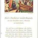 St. Boniface leaves England for Germanic lands.