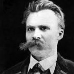 Friedrich Nietzsche was a philosopher, who famously wrote that God is dead. He also wrote about the superman type (Uebermensch) and the opposite, Untermensch. Some of his theory went into the idea of Aryan superiority, later proclaimed by the Nazis.