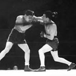 Max Schmeling and Joe Louis had two memorable heavyweight bouts in the 1930s. Schmeling won the first and Louis won the re-match.