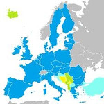 Map of the European Union in 2010 or so.