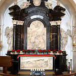 St. Boniface's crypt in Fulda Cathedral.